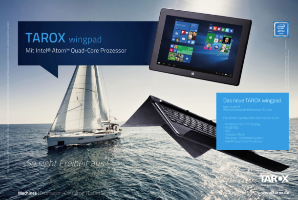<strong>TAROX AG<span><b>TAROX Produkt-Kampagne // wingpad</b></span></strong><i>→</i>