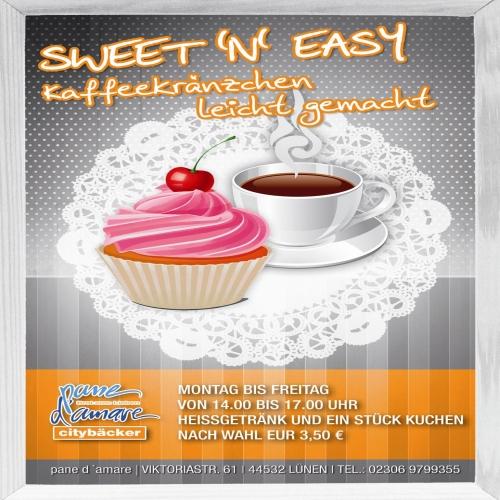 Sweet ´n´Easy mit Werbetechnik