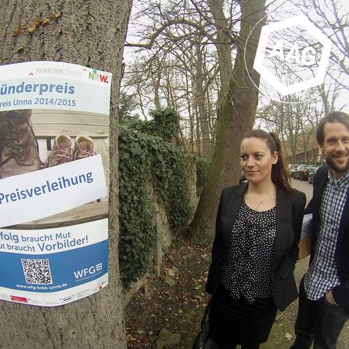 Gründerpreis 2014 / 2015 – wir waren als Werbeagentur aus Lünen dabei!