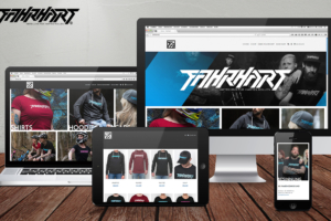 <strong>Webshop für Lifestyle-Label FAHRHART<span>FAHRHART</span></strong><i>→</i>