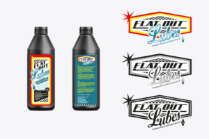 <strong>Etiketten Flat Out Lubes<span>FLATOUT SUSPENSION</span></strong><i>→</i>