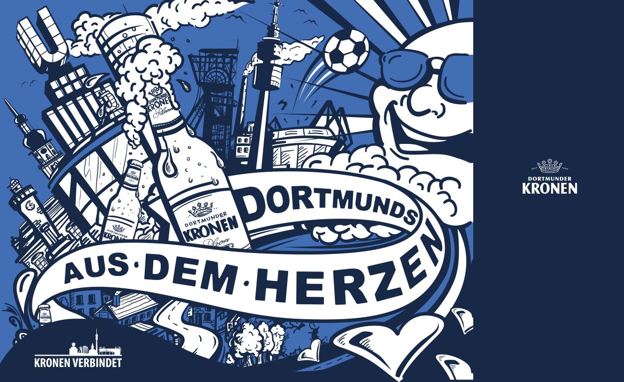 Illustration für Dortmunder Kronen.