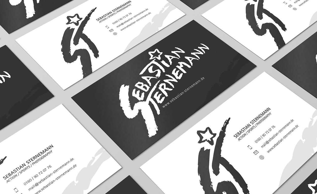 Neues Corporate Design für Fotograf Sebastian Sternemann