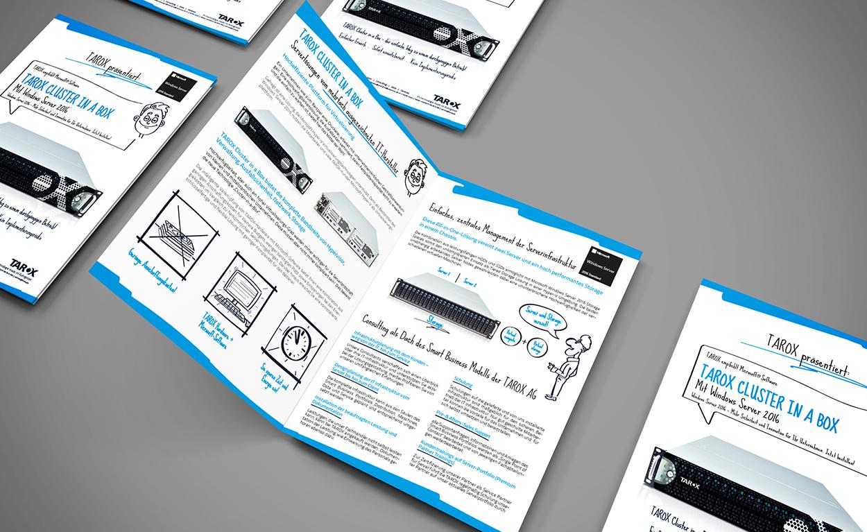 Produktbroschüre TAROX Cluster in a Box