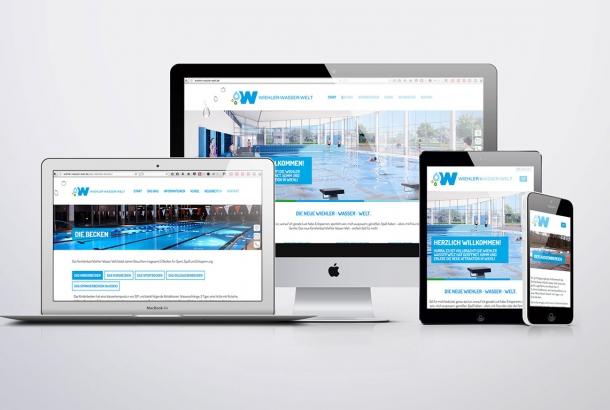 """<strong>Website Familienbad """"Wiehler Wasser Welt""""<span>Freizeit- und Sportstätten Wiehl Eigenbetrieb der Stadt Wiehl</span></strong><i>→</i>"""