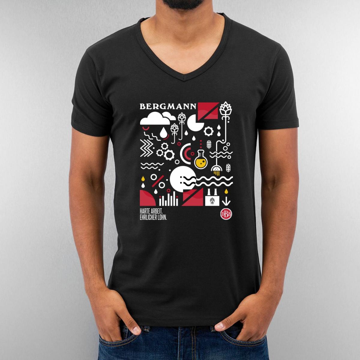 Shirt Idee: Bergmann Bier Dortmund