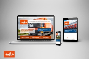 <strong>Neue Website für die Spedition Aulich<span>Aulich GmbH</span></strong><i>→</i>