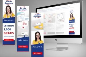 <strong>Online-Banner für Avery Zweckform<span>Avery Zweckform GmbH</span></strong><i>→</i>