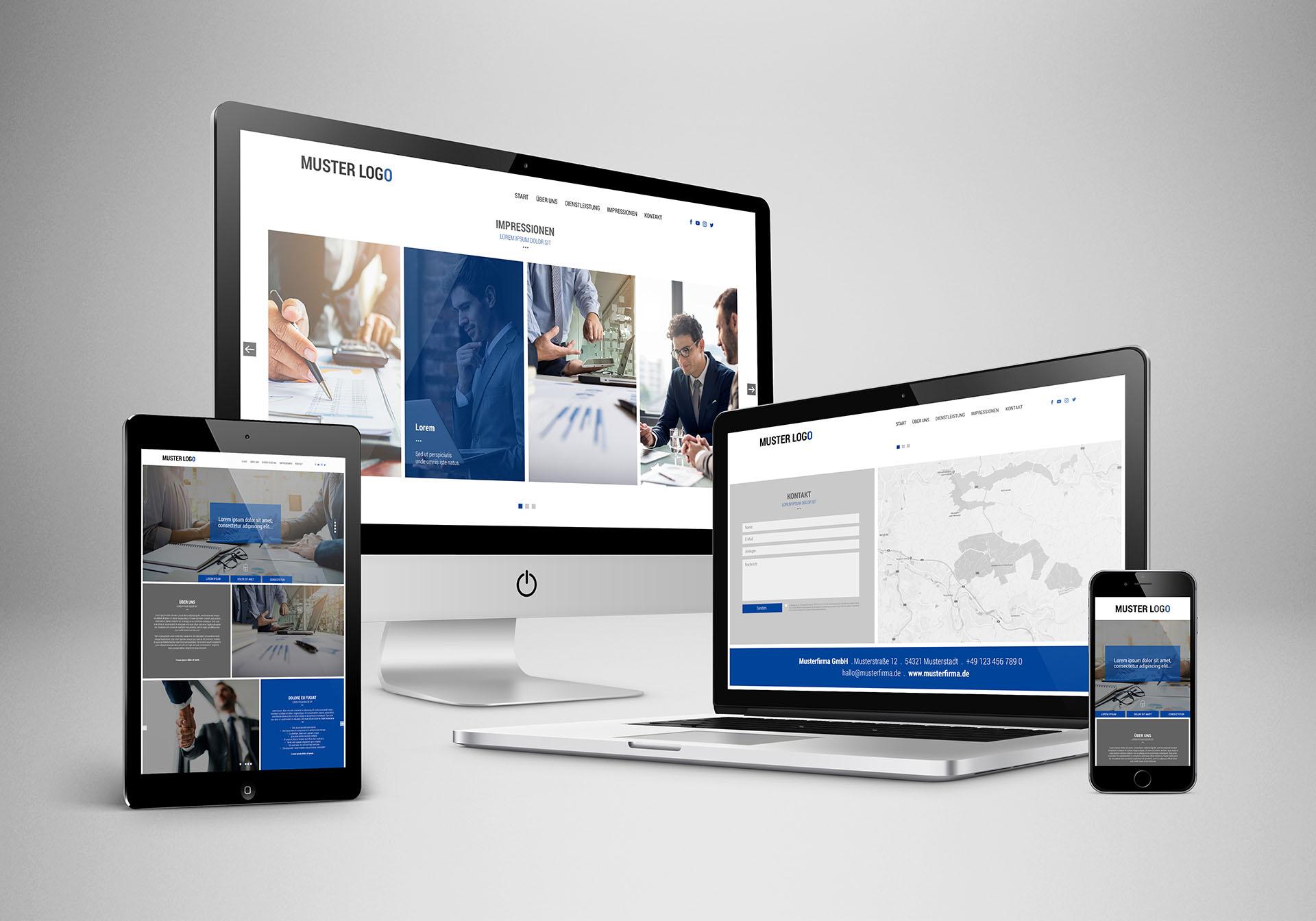 """<strong>Web Paket """"Business""""<span>Moderne, Wordpress-Website für Gründer, Start-Up´s und junge Unternehmen.</span></strong><i>→</i>"""