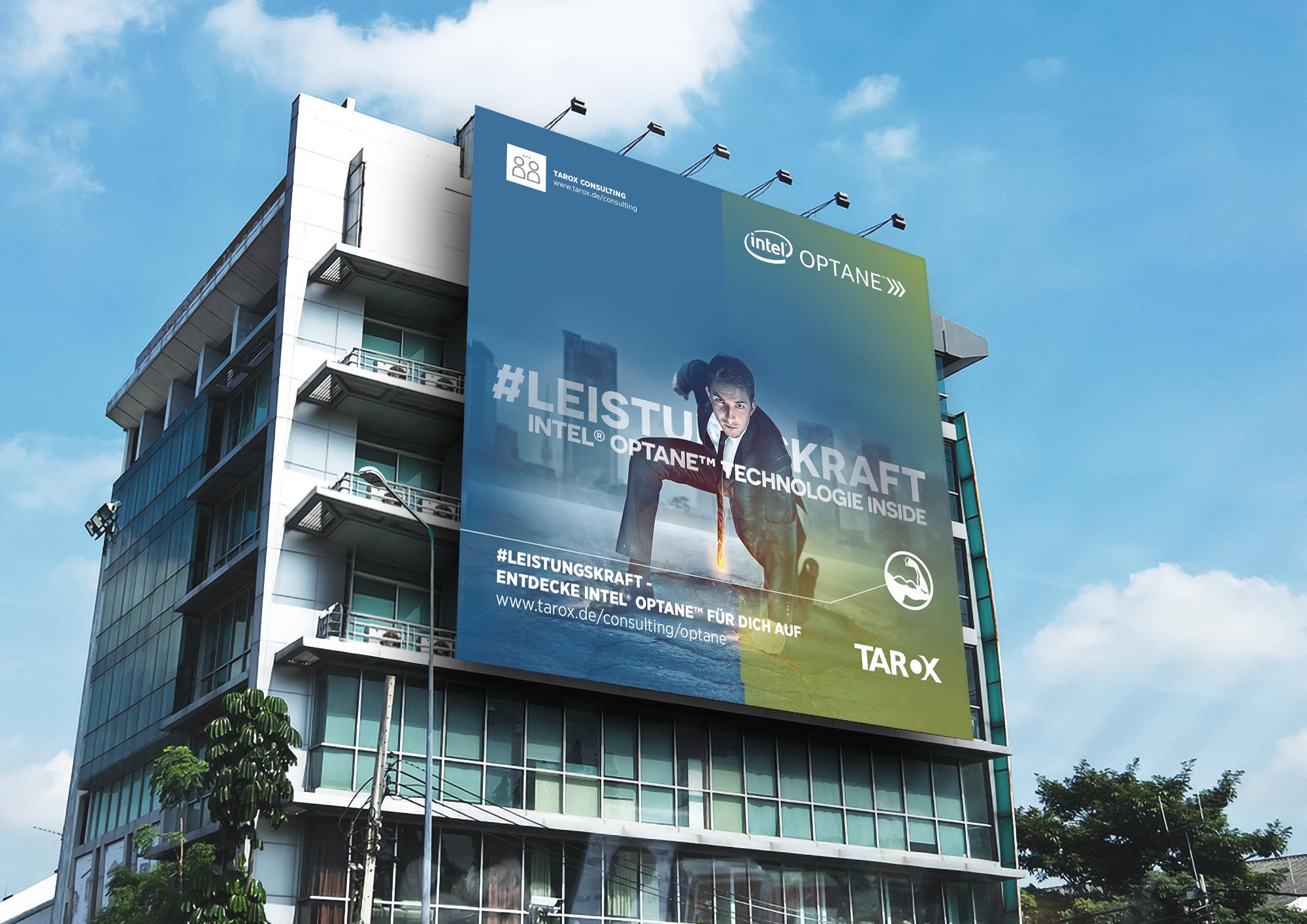 Intel Optane Kampagne / Vertrieb TAROX