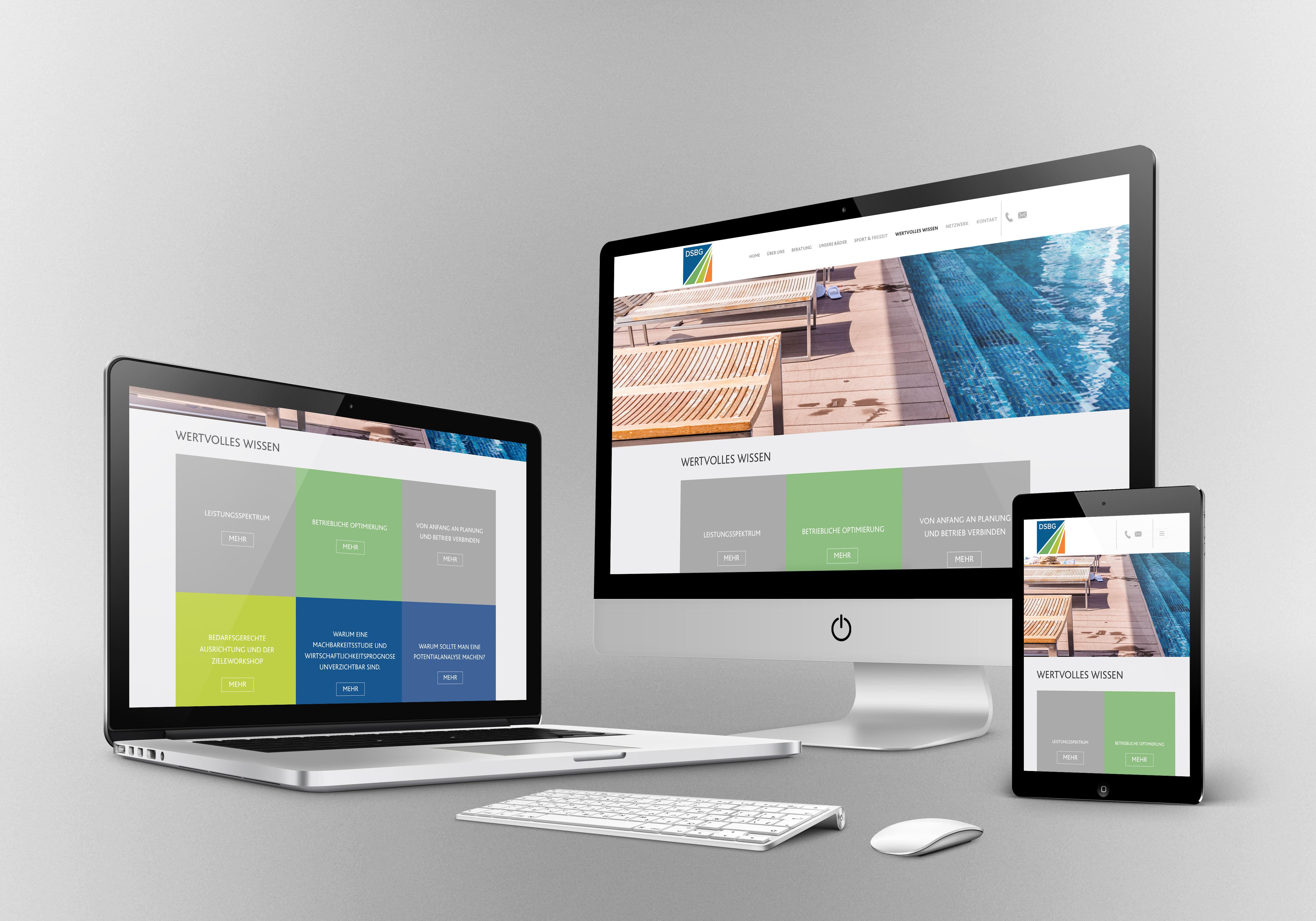 Relaunch DSBG Website