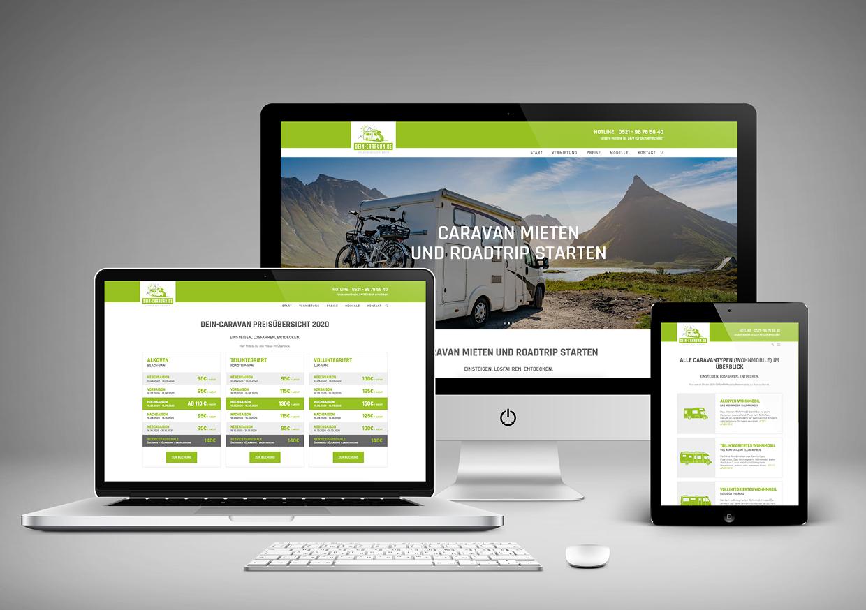 Marke & Website DEIN-CARAVEN.de